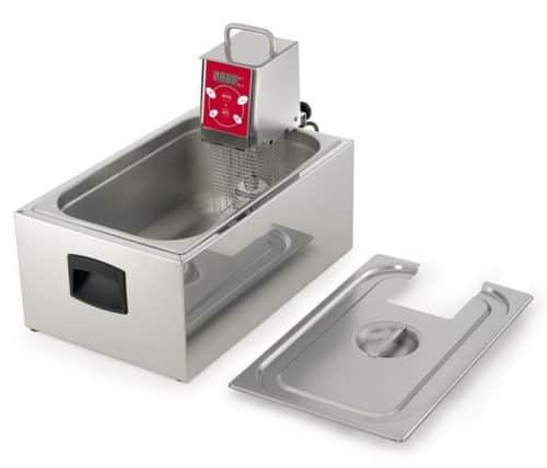 vasca e coperchio per roner