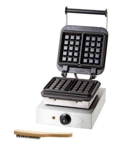 piastra per waffle professionale