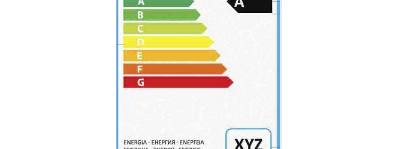 etichetta energetica frigoriferi professionali
