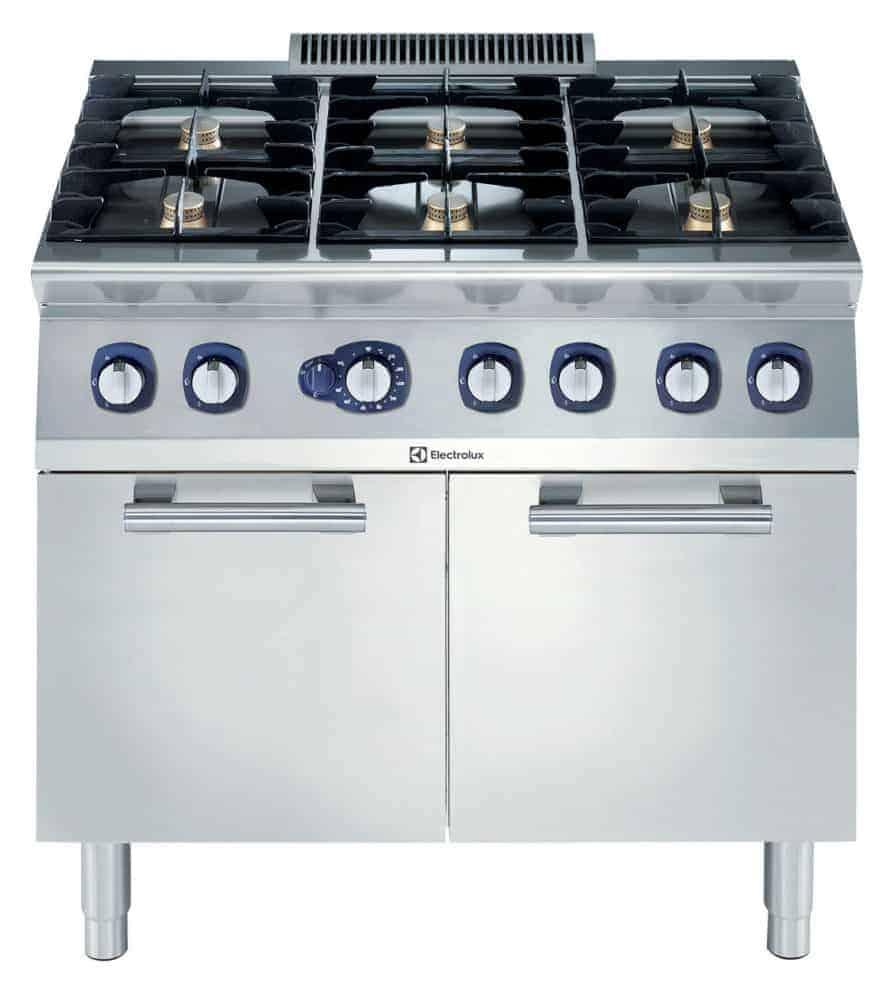 Cucina acciaio con forno a gas forniture alberghiere shop - Cucina induzione con forno ...