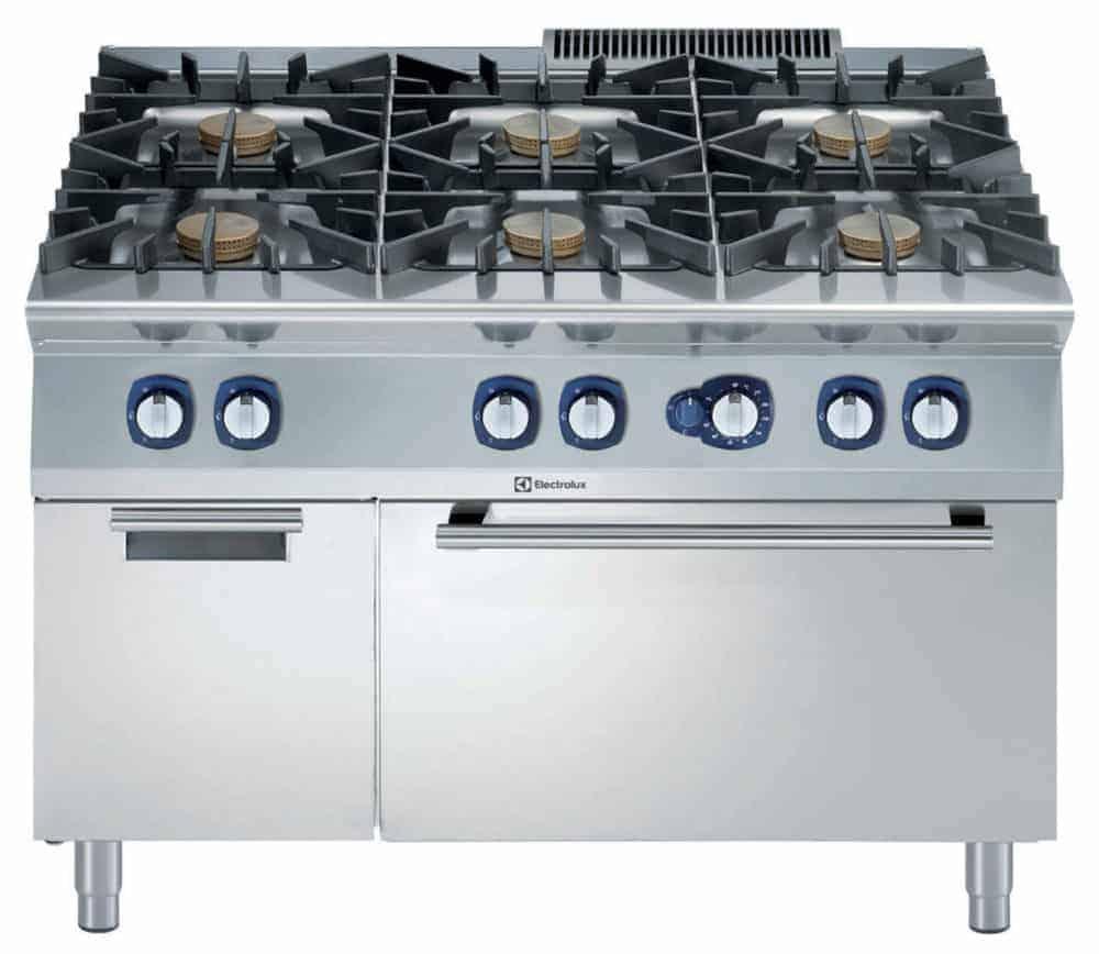 Cucina Industriale Con Forno A Gas Forniture Alberghiere Shop