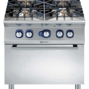 cucine professionali con forno a gas