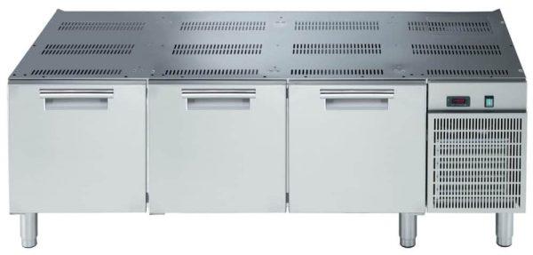 base refrigerata 3 cassetti