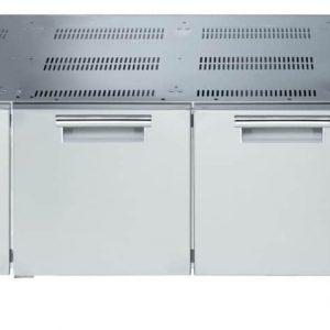 base refrigerata con 3 cassetti
