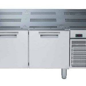 base refrigerata con due porte