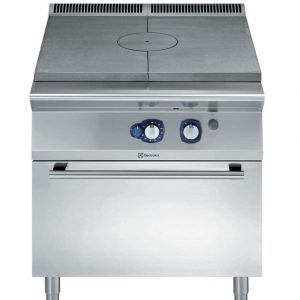 Tuttapiastra a gas su forno