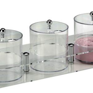 Contenitori per marmellata e yogurt