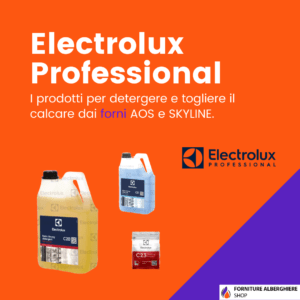 Detergenti e Brillantanti Electrolux Professional forni