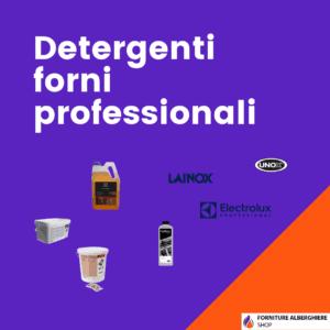 Detergenti forni professionali