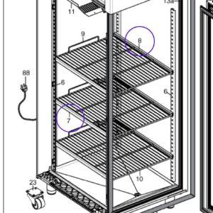 Guide frigo Electrolux Professional 093250 093251