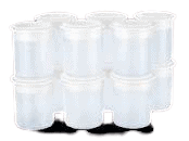 Bicchieri pacojet in plastica