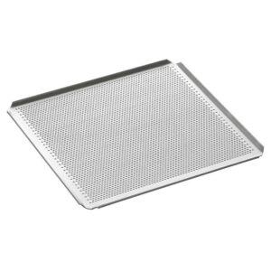 teglia gastronorm 2/3 forata alluminio per pasticceria